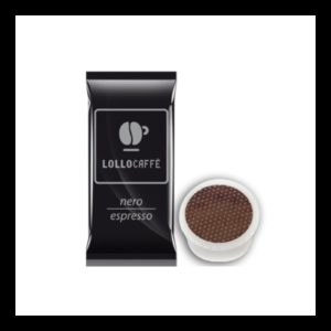 Caffè Lollo Nero 100 Capsule Compatibili Espresso Point Lavazza