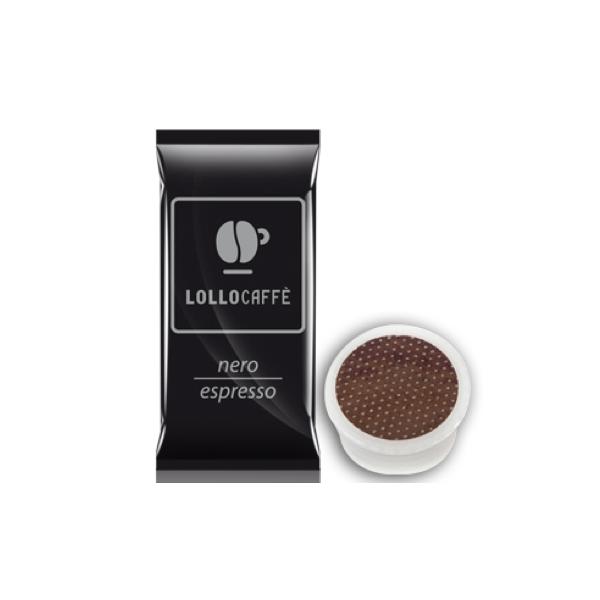 Caffè Lollo Nero 100 Capsule Compatibili Espresso Point Lavazza